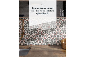 Five Reasons to Use Tiles for Your Kitchen Splashback