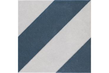 Abode Diagonals Navy 223mm x 223mm