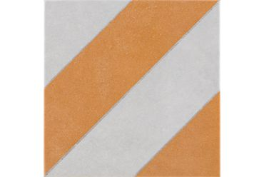 Abode Diagonals Ochre 223mm x 223mm