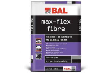 5kg. Bal Max Flex Fibre White