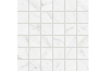 Calacatta White Matt Mosaic 300mm x 300mm