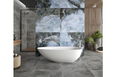 Onyx Agate Azul Bathroom