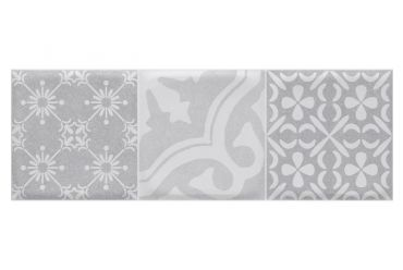 Wentworth Gris Decor 610mm x 214mm