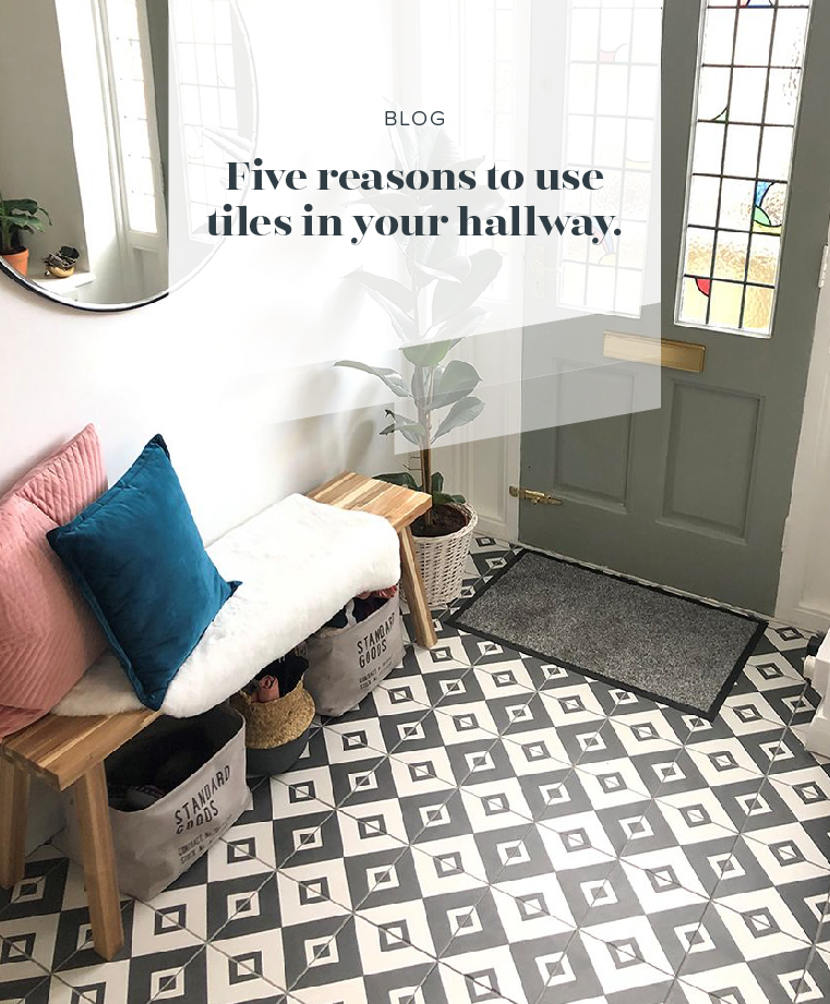 Five Reasons to Use Tiles in your Hallway